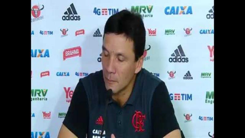 Coletiva de imprensa - Zé Ricardo. Atlético-GO 1 X 2 Flamengo