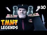 Черепашки-Ниндзя Легенды. Прохождение #30 (TMNT Legends IOS Gameplay 2016)