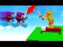Minecraft бед варс жестокая битва с читером на вайм ворлд