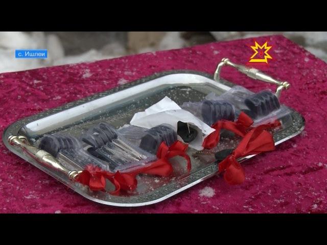 В Ишлеях 6 детей-сирот получили ключи от квартир