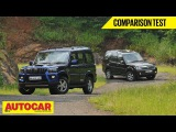 2014 Mahindra Scorpio vs Tata Safari Storme  Comparison Test  Autocar India