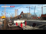 В Ростове-на-Дону активно идет строительство стадиона для ЧМ-2018