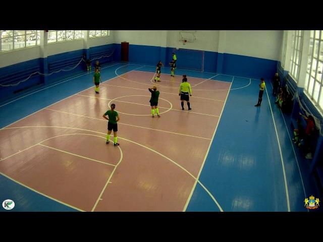 Сбербанк - Спарт (Углич) 0:10 Открытый Чемпионат Костромской области по мини-футболу среди женских команд (26.11.17)