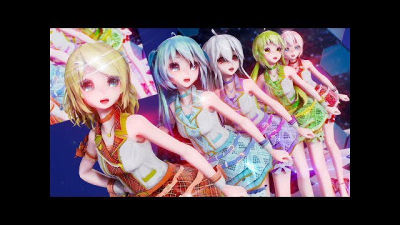 【MMD】Carry Me Off【Idol Master】1440p60fps