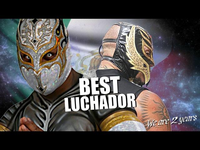 WWE Sin Cara (Myzteziz) and Rey Mysterio Dream Team HD