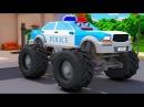 Мультики про машинки - Полицейские машинки и СУМАСШЕДШИЕ ГОНКИ! Новые Мультфиль ...