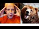 Реакция Американца на Русского медведя против собаки Американский профессор на...
