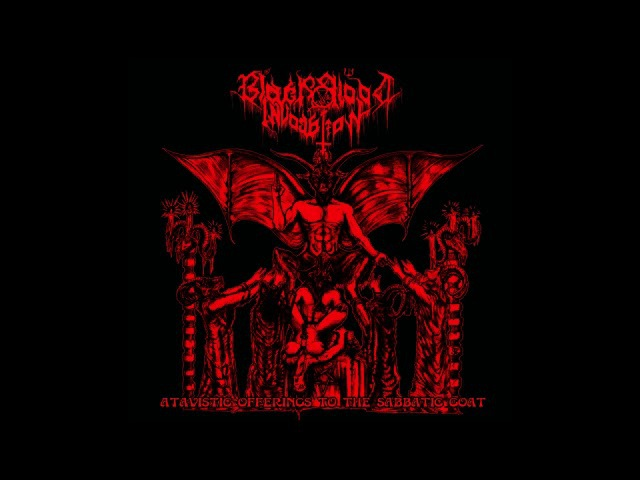 Black Blood Invocation (Greece) - Atavistic Offerings to the Sabbatic Goat (EP) 2017