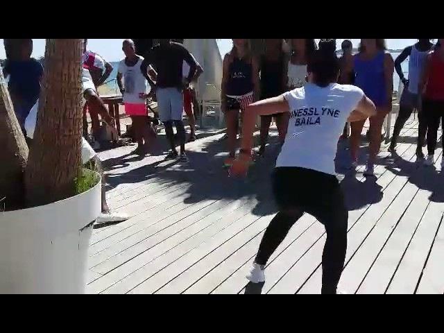 ANESSLYNE BAILA & NOEL - Stage Rumba (Guaguanco) - Festival Salsa St Tropez (2017)