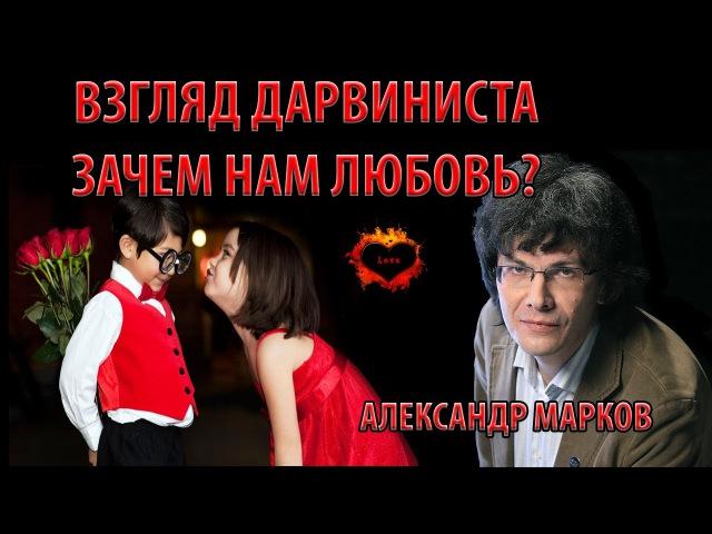 Зачем нам любовь? Взгляд дарвиниста. Александр Марков. Лекция