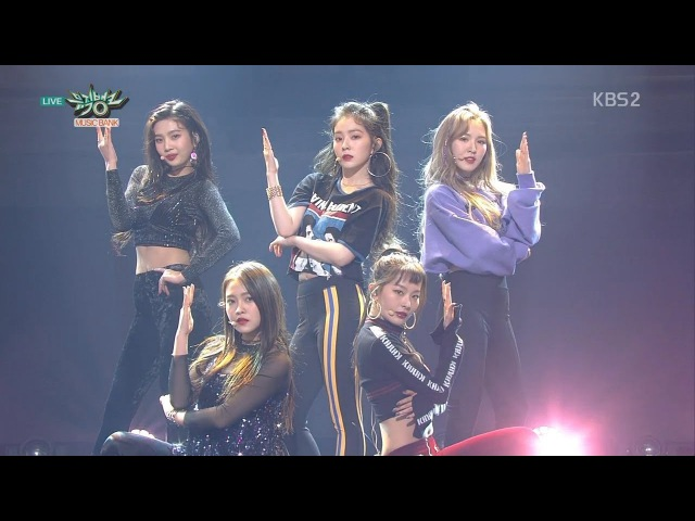Red Velvet 레드벨벳 Comeback Stage 봐 (Look) KBS MUSIC BANK 2017.11.17