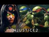 Injustice 2 - Enchantress & Teenage Mutant Ninja Turtles Fighter Pack 3 Trailer @ @ 1080p HD ✔