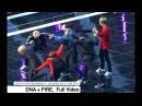 방탄소년단 BTS[4K Rehearsal 리허설 직캠]DNA + FIRE,평창문화올림픽케이팝콘서트 풀캠@171101 락&#48036