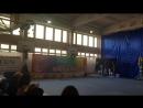 Наша первая медаль по художественной гимнастикеТы умничка...Слушайся тренеров и все у тебя получиться.