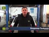 Школа ремонта TRIALLI - замена задних амортизаторов на Renault Logan
