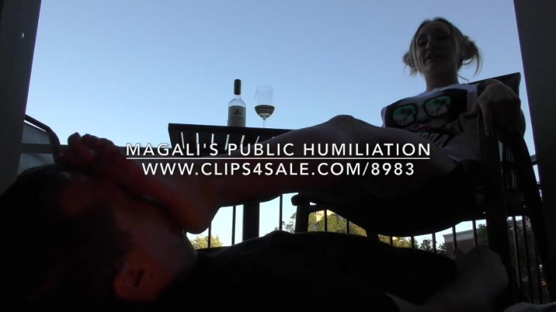 Magali's Public Humiliation - www.c4s.com/8983/17742154