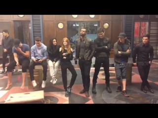 LiveChat on Facebook with cast ShadowHunters
