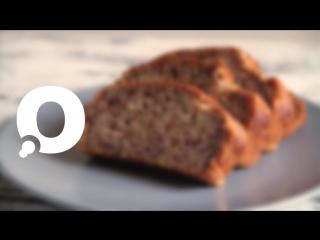 Десерты: как приготовить банановый кекс или BANANA BREAD?
