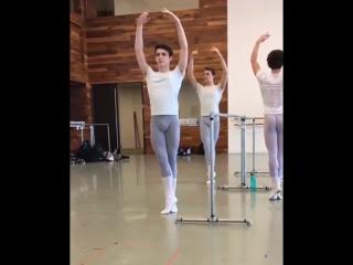 Classic ballet hot lycra.