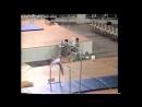 Петля Корбут запрещенный элемент в спортивной гимнастике / петля Мухиной