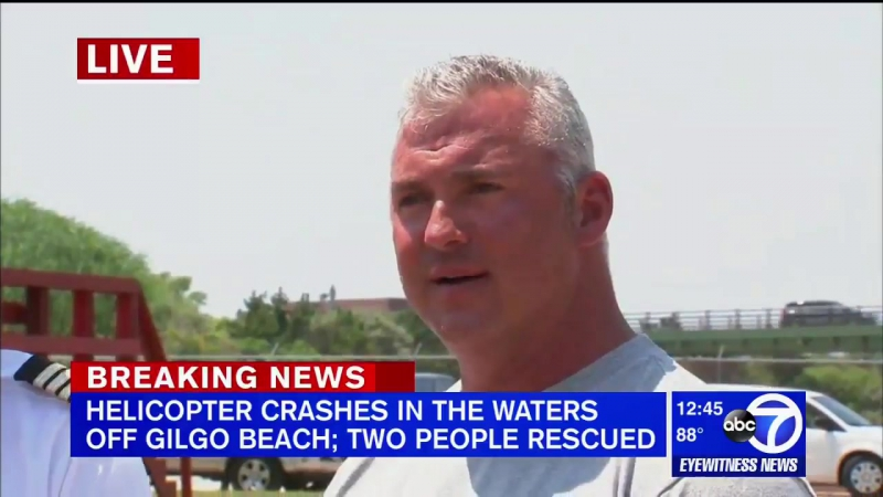 WWE's Shane McMahon rescued from helicopter that crash-landed into Atlantic Ocean
