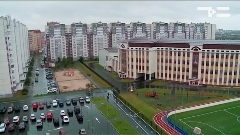 Самая большая школа. Тюмень.