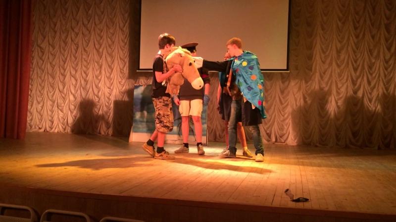 Театрализованный конкурс Легенды царя морского
