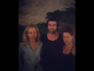 Naomi Battrick Ben Starr Niamh Walsh (Steven Waddington instagram) behind the scenes Jamestown (p4)