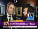Benjamin Amadeo hablo de su ex novia Lali Esposito BDV 09-06-2017