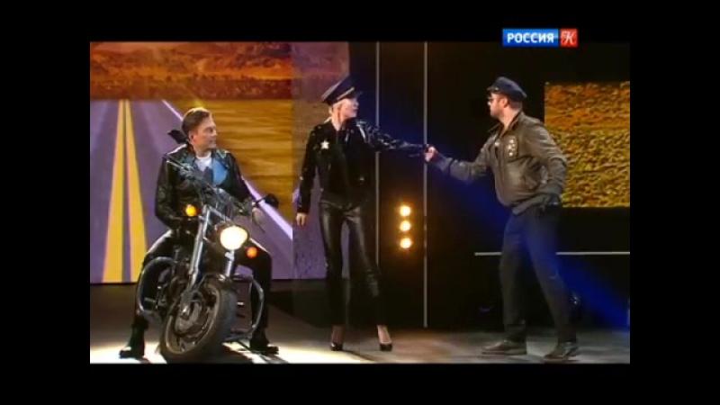 Большая опера - Андрейс Жагарс, Надя Михаэль и чей-то третий голос на фонограмме
