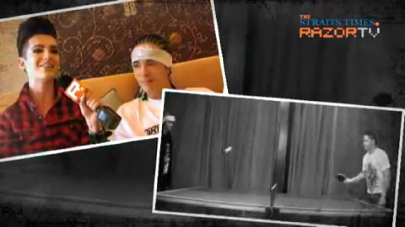 RAZOR TV_ Tokio Hotel Interview - 04.08.10 (part 2/5)