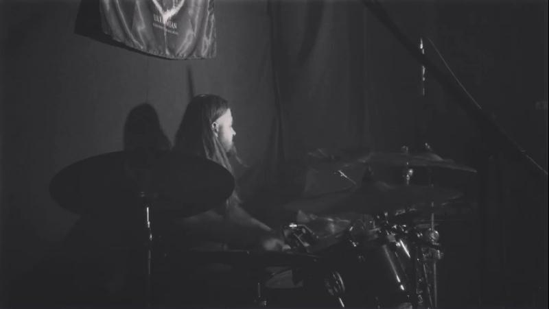 Stryvigor - До прірви холоду (Live in Khmelnitsky) 28.10.17 Drumcam