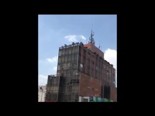 Разрушительное землетрясение в Мексике, 19.09.2017