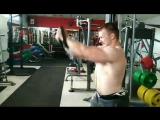 Тренировка грудных мышц. Сергей Давыдчик