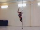 Exotic Pole dance, pole sport, pole danceStrip plastic studio Apache, Ufa