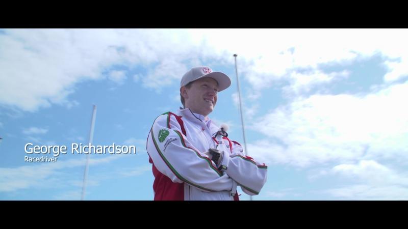 George Richardson in Zandvoort