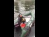 Леха на лодке