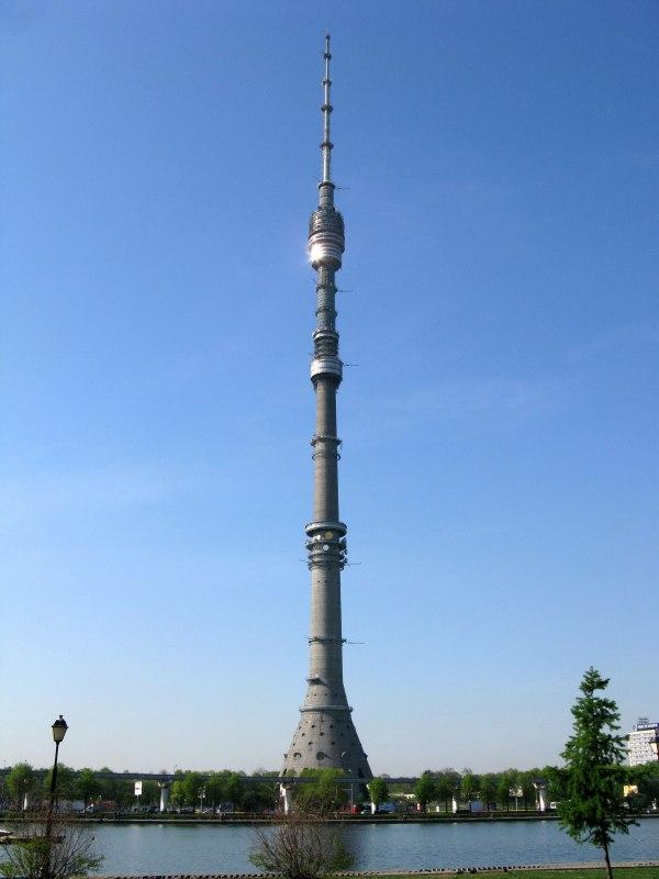 Телевизионные башни - достижение инженерной мысли!