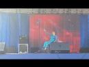 Танец с гимнастической лентой