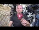 Астронавты НАСА показали трюки со спинером