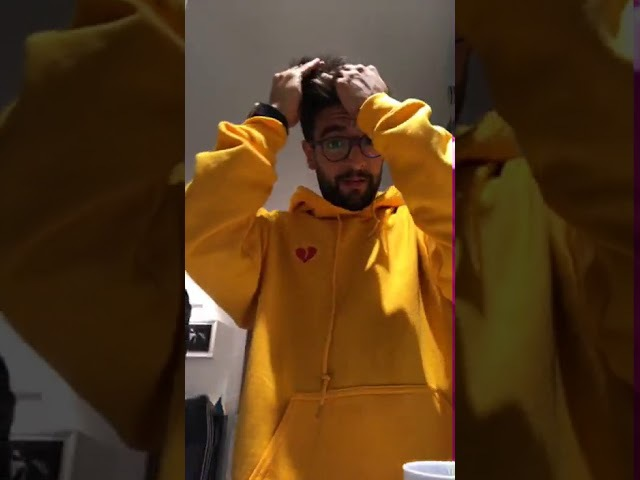 Piero Barone (Il Volo) - Live Instagram