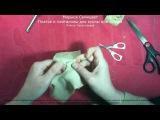 4 Платье и панталоны для куклы или мишки Платье Часть первая