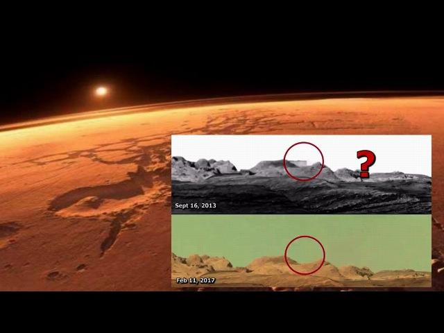¡Expuesto! Enorme Edificio en Marte borrado de una imagen de la Curiosity