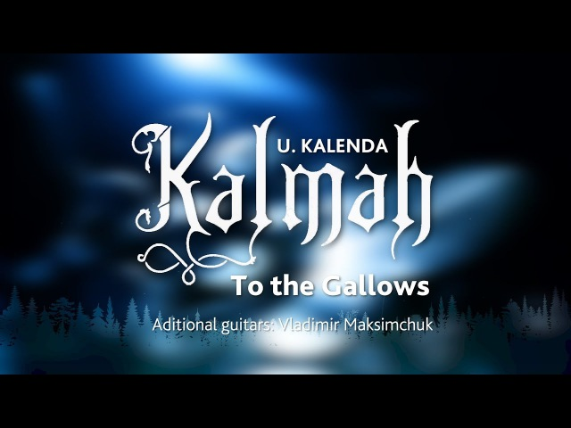 U. KALENDA - KALMAH - To the Gallows (drum cover)