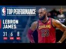 LeBron James Soars For 31 As Cavs Win 3rd Straight | November 15, 2017
