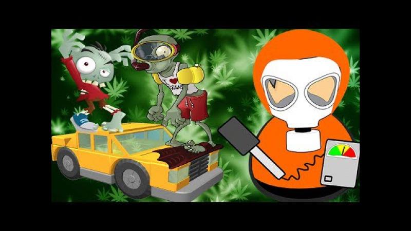 Монстры в СМЯТКУ! 🤢 Deadland 👹 Зомби Апокалипсис мультик игра про зомби для детей