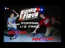 Funky Flava Novosibirsk Popping 1 2 Final Anton vs Jecha