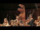 T-rex in Jurassic Park Main Theme by John Williams 쥬라기 공원 ジュラシック・パーク waiting for Fallen Kingdom