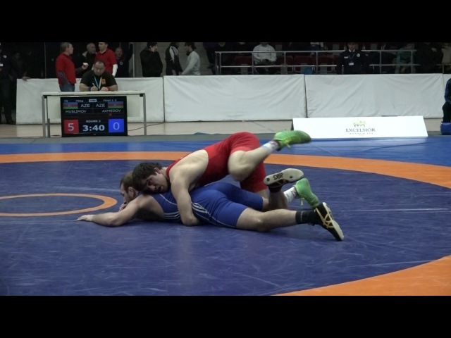 AzÇ-2017: Murtuz Müslümov - Ruslan Axmedov / 70 kq, final