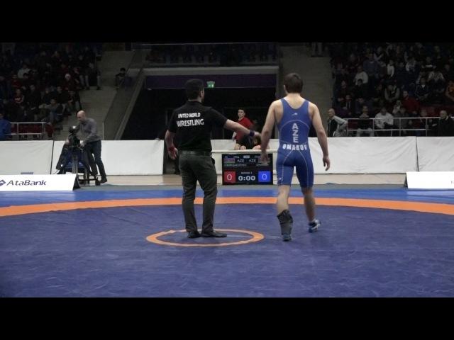 AzÇ-2017: Ruslan Dibirhacıyev - Hacımurad Ömərov / 70 kq, bürünc medal görüşü